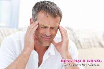 Thiếu máu não khiến người bệnh đau đầu thường xuyên